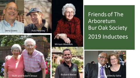 2019 Bur Oak Society Inductees
