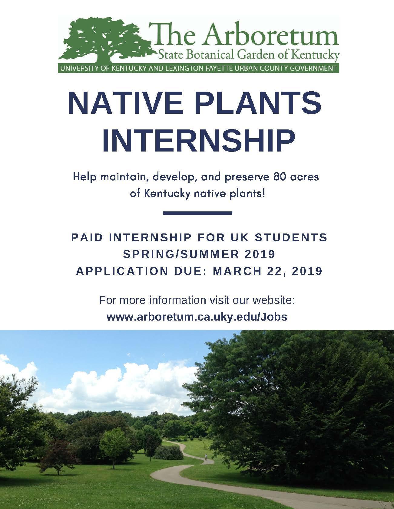 Native Plants Internship