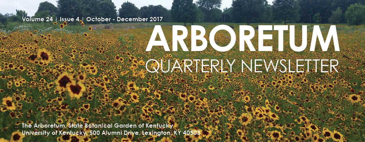 Arboretum Fall Newsletter 2017
